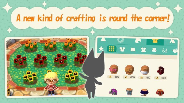 Animal Crossing Jardin Et Fabrication De Tenues