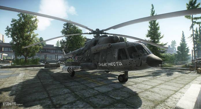 Escape from tarkov - helico