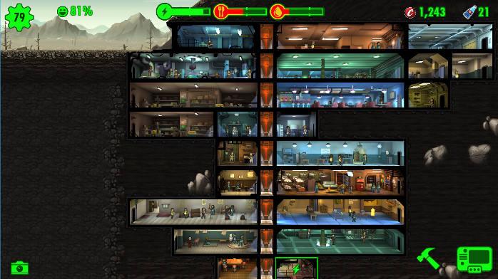 Fallout Shelter - Abri