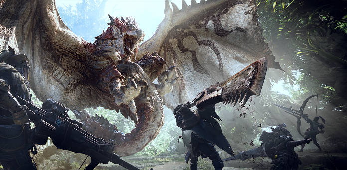 Monster Hunter World Chasse