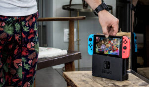 Nintendo Switch Console Salon portable