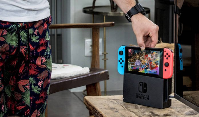 Nintendo Switch Console Salon portable