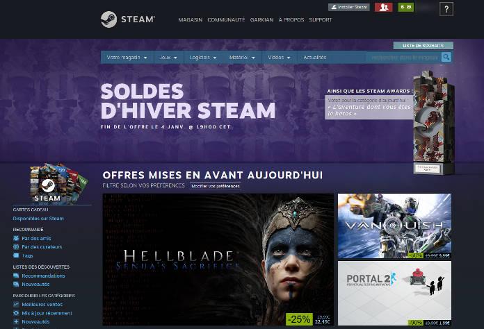 Steam Winter Sales 2017 : Soldes d'hiver, La Sélection