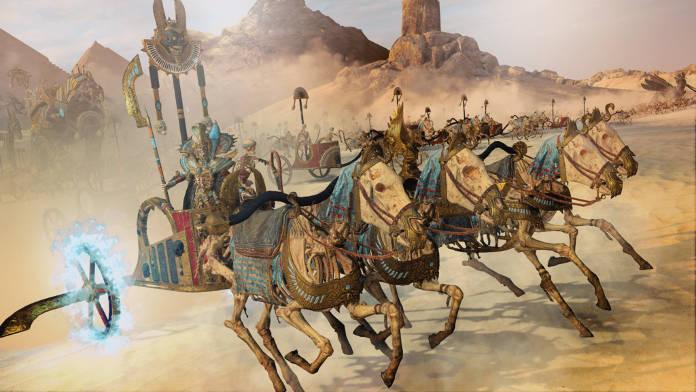 Total War Warhammer 2 DLC Rise of the Tomb Kings