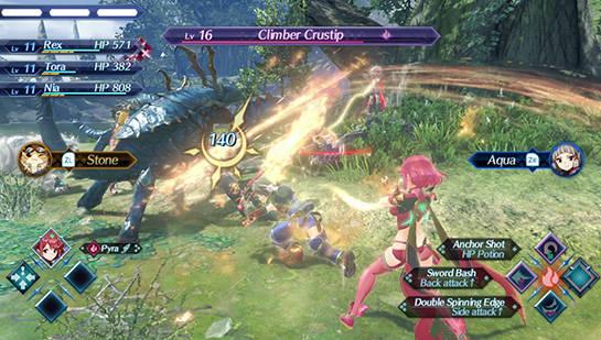 Xenoblade Chronicles 2-Combat