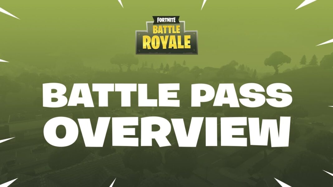 Mise à jour Fortnite - battle pass