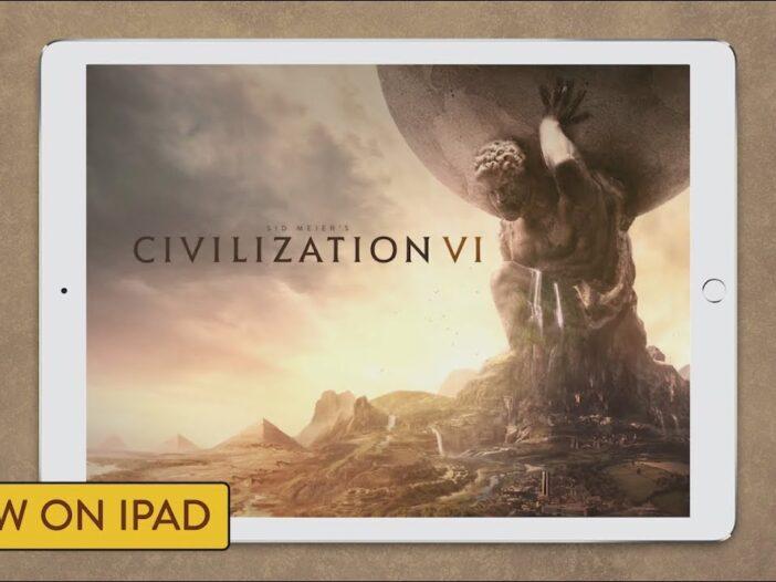 Civilization VI sur iPad