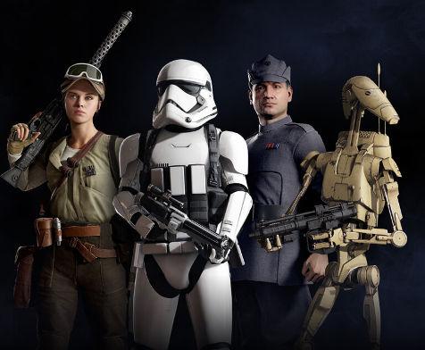 star wars battlefront II Classes