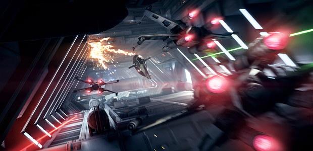 star wars battlefront II Combats Spatiaux