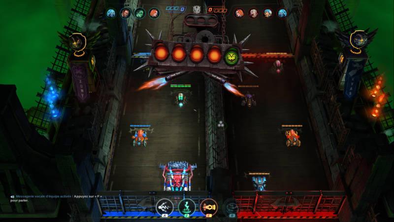 Heavy Metal Machines - meilleurs jeux PC gratuits 2018 - gameplay début de partie