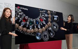 LG Ecran 8K OLED 88 pouces