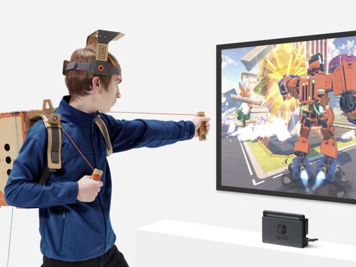Nintendo Lab - Cardboard - Transformer