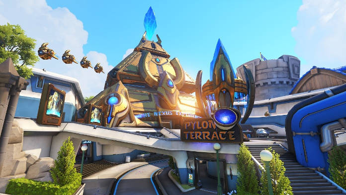 Overwatch - Blizzard World - nouvelle carte