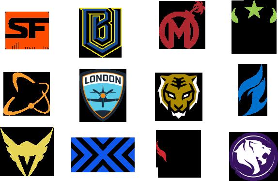 Overwatch League Teams - Les équipes