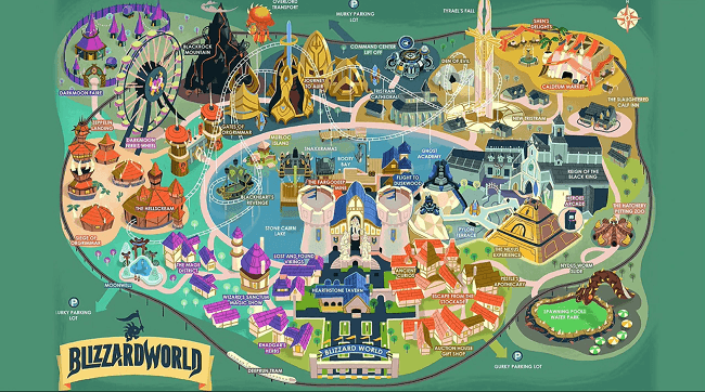 Overwatch - Nouvelle carte - Blizzard World