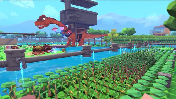 PixArk - un remake Ark Survival Evolved - minecraft style - Plante