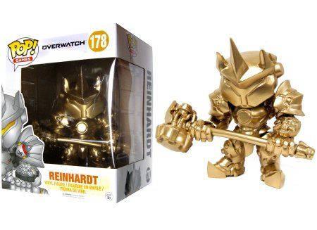 Reinhardt Overwatch Gold - Figurine Pop