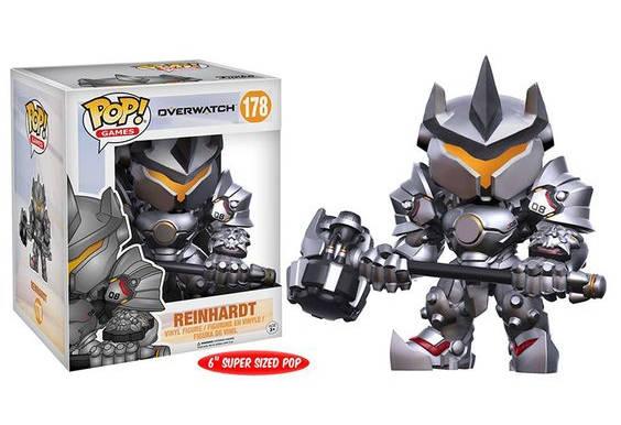 Super Sized Reinhardt Overwatch - Figurine Pop