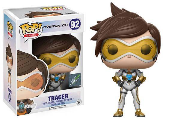Tracer Overwatch thinkgeek - Figurine Pop