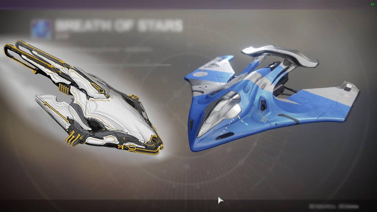 Warframe vs Destiny 2 - Comparatif - Vaisseaux