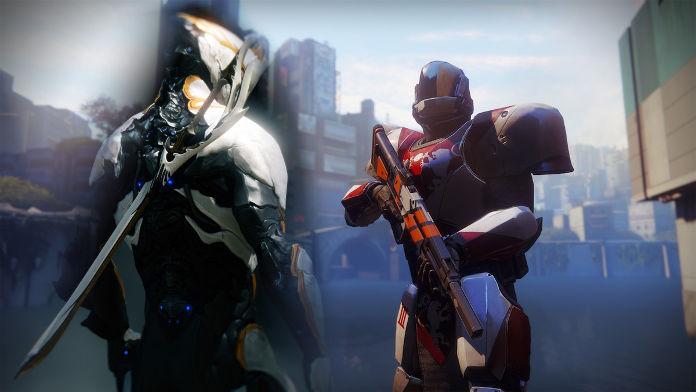 Warframe vs Destiny 2 - comparatif - Gameplay