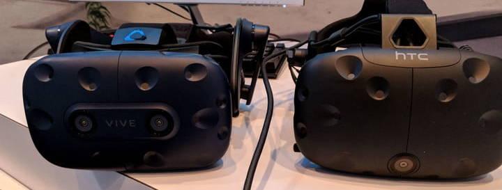 HTC Vive Pro - Les premières impressions sur la nouvelle génération VR - comparaison ancien Vive