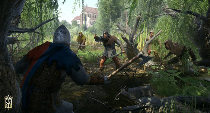 combat dans la forêt de Kingdom Come Deliverance - Test