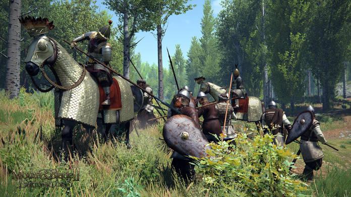 Mount & Blade II Bannerlord - armée dans la forêt