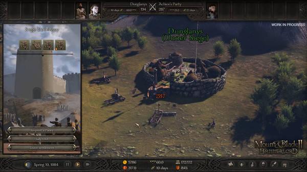 Mount & Blade II Bannerlord - siège
