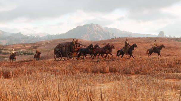 Red Dead Redemption 2 - Toutes les infos, date, trailer - caravane