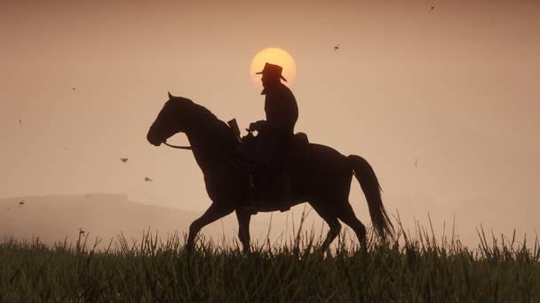 Red Dead Redemption 2 - Toutes les infos, date, trailer - couché de soleil