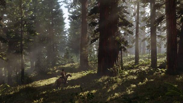 Red Dead Redemption 2 - Toutes les infos, date, trailer - foret
