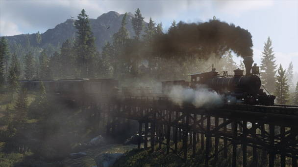Red Dead Redemption 2 - Toutes les infos, date, trailer - train
