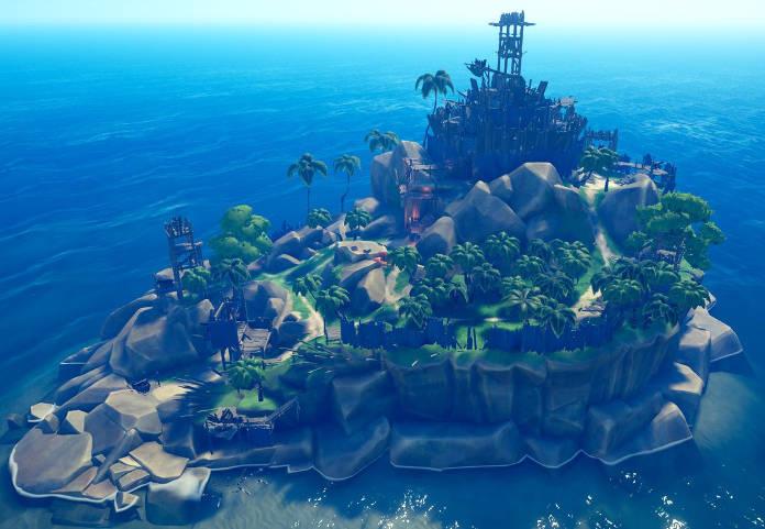 Sea Of Thieves - Rare présente les forts de squelettes