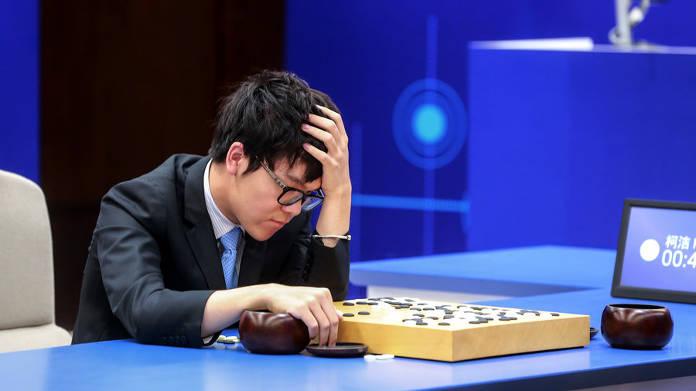 AlphaGo - l'IA contre Ke Jie - jeu de go