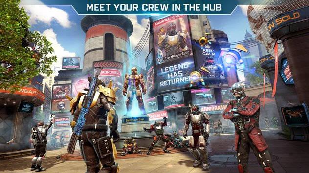 Le très attendu FPS Shadowgun Legends sortira le 22 mars - le hub pour rencontrer vos équipiers