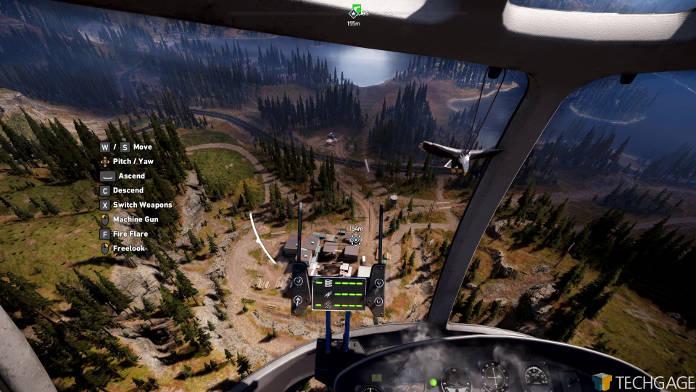 Test Far Cry 5 - Le meilleur de la série - Vue du ciel