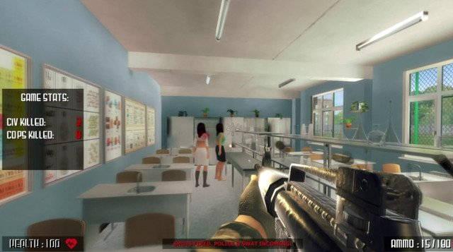 Active Shooter - Un jeu de tir dans une école retiré de Steam