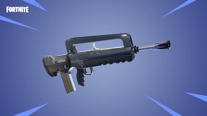 Fortnite Mise à jour 4.2 - Infos, détails et arrêt serveur - Fusil d'assault epique et legendaire