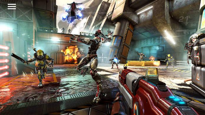 meilleurs jeux Android gratuits à télécharger - Shadowgun Legends