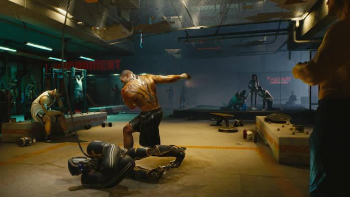 Cyberpunk 2077 - Après 50 minutes de gameplay - Combat 2