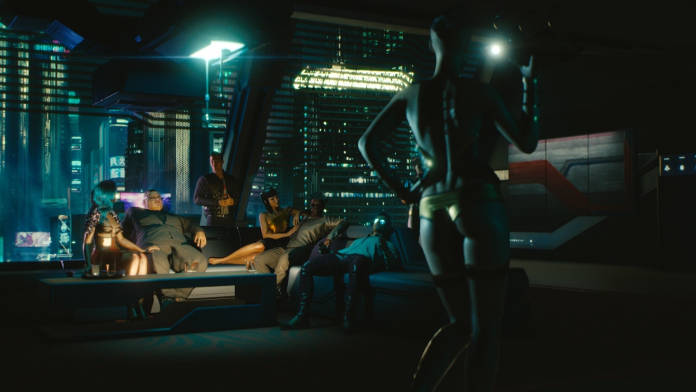 Cyberpunk 2077 - Après 50 minutes de gameplay - Un peu de social