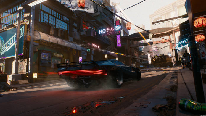 Cyberpunk 2077 - Après 50 minutes de gameplay - Vehicule