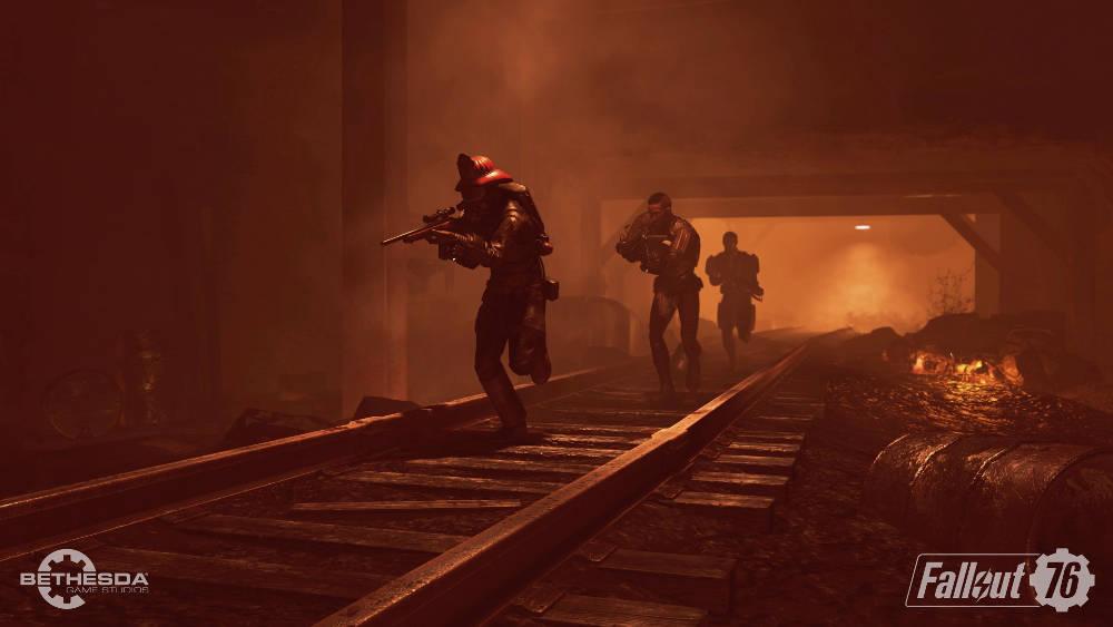 Fallout 76 - Gameplay multijoueur en vidéo, l'aube d'un nouveau Fallout