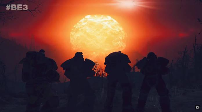 Fallout 76 - La bombe nucléaire ne ciblera pas les autres joueurs