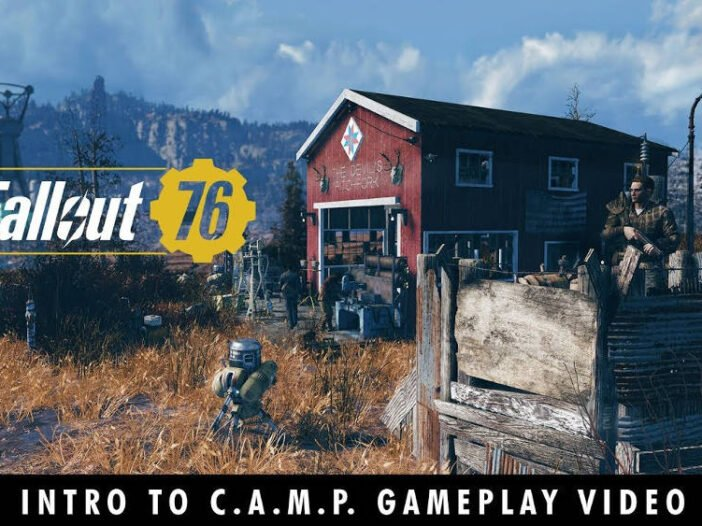 Fallout 76 - Le mode construction de base C.A.M.P, infos et vidéo