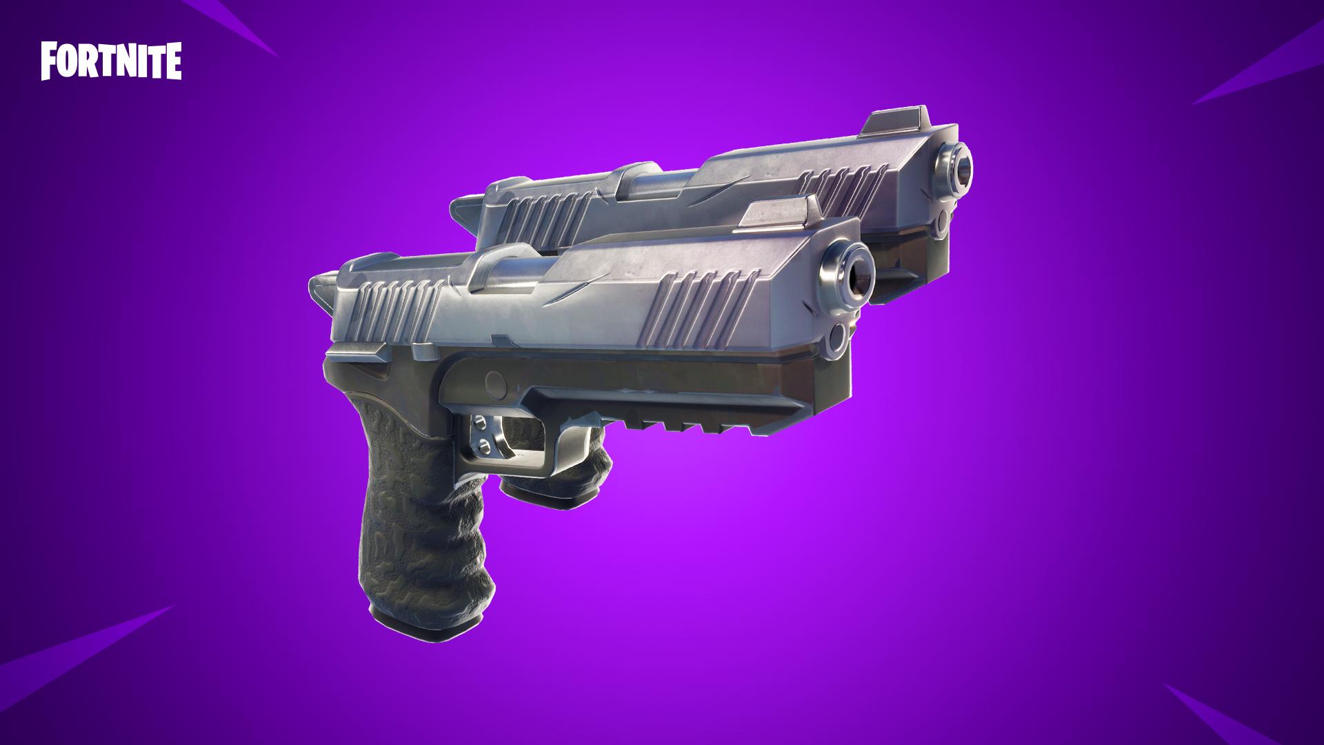 Fortnite - Mise à jour 4.5, arrêt serveur et infos - pistolet double