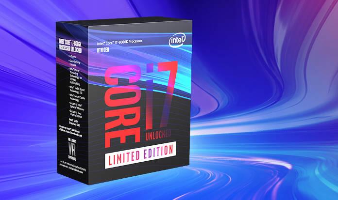 Intel annonce un processeur Core i7-8086K et un CPU avec 28 cœurs