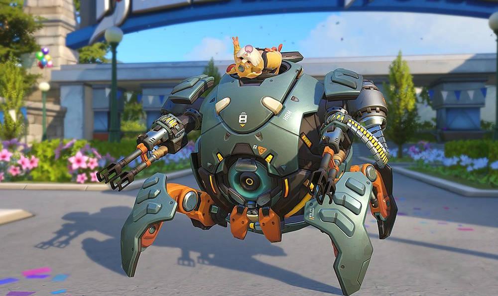 Overwatch Wrecking Ball - Le nouveau héro est un.. Hamster - Bouldozer, Hammond - présentation