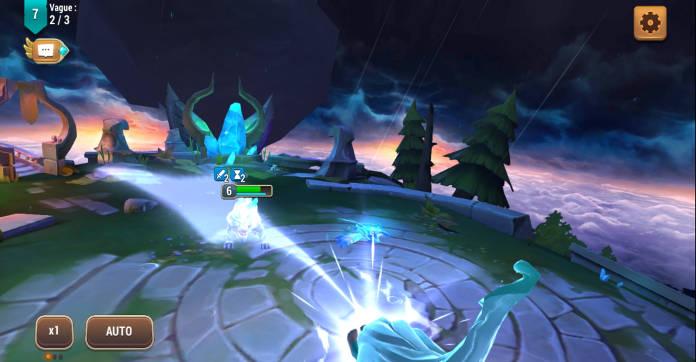 Test - Might & Magic Elemental Guardians - L'univers M&M sur mobile - Combat 3